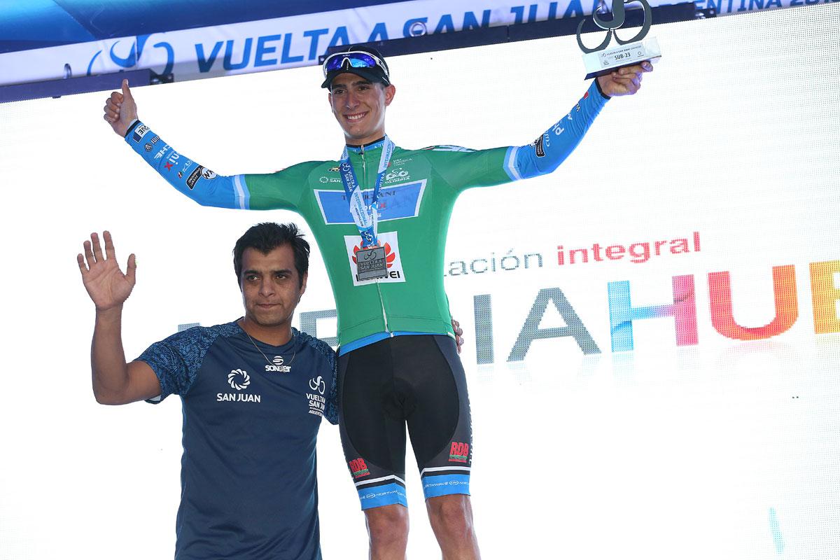 Manuel Peñalver sprinta con i grandi alla Vuelta San Juan