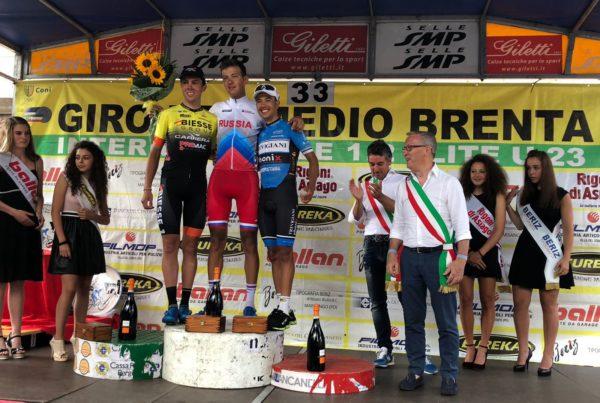 Zahiri sul podio del Giro del Medio Brenta